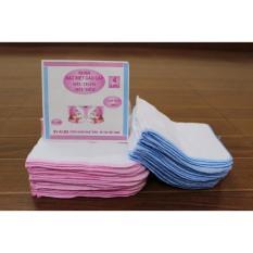 Set 10 khăn sữa Kiba cao cấp made in Viet Nam phân loại 2/3/4 lớp dùng cho bé sơ sinh
