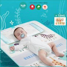 Chiếu điều hòa cho bé cao cấp KUB, chiếu lụa thoáng khí chống ẩm cao và êm ái cho bé