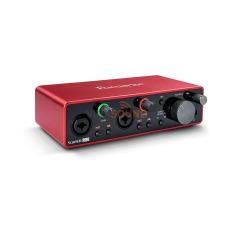Sound card thu âm chuyên nghiệp Focusrite Scarlett 2i2 (Gen 3) thế hệ 3 với Pro Tools bản quyền