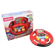 Vô lăng điện tử đường đua kỳ thú – vui nhộn cho bé Winfun 1080 – đồ chơi cho bé từ 3 tới 6 tuổi