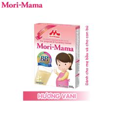 Sữa bầu Morinaga Mori-Mama dành cho phụ nữ thời kỳ mang thai và cho con bú – hương vani 200gr