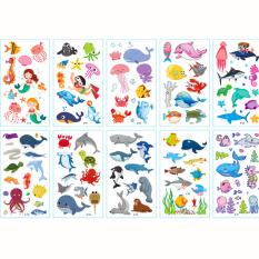 Sticker hình xăm dán chống nước cho bé trai và bé gái nhiều họa tiết ngộ nghĩnh đáng yêu cho bé thỏa sức sáng tạo BBShine – ST006