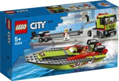 LEGO CITY Thuyền Đua Vận Chuyển 60254 (238 chi tiết)