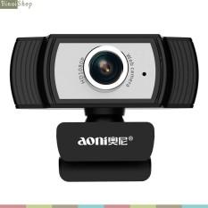 Aoni C33 – Webcam Livestream Siêu Nét, Họp Trực Tuyến, Học Online, Lấy Nét Chủ Động, Góc Quay 80 Độ