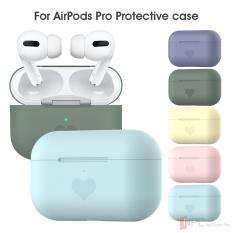 Ốp Cao Su Silicone AirPods Pro Hình Trái Tim – Nhiều Màu Thời Trang Bảo Vệ Tai Nghe Apple AirPods Pro