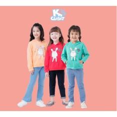 Áo Hoodie Bé Gái (3-9 Tuổi) K's Closet K144NIF TM