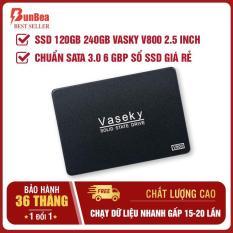 Ổ cứng SSD 120gb 240gb Vaseky V800 2.5 inch, chuẩn SATA 3.0 6 gbp sổ SSD giá rẻ, ổ cứng mini, ổ cứng máy tính, ổ cứng laptop (chạy dữ liệu siêu nhanh gấp 15-20 lần so với ổ cứng thường)-Bảo hành 36 tháng 1 đổi 1