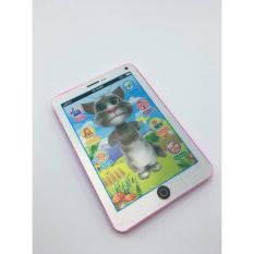 Vỉ đồ chơi Ipad mèo Tom Cat 3D thông minh dùng pin có nhạc ( cho bé) – Máy tính bảng giúp bé tăng cường trí tuệ – Giao màu ngẫu nhiên