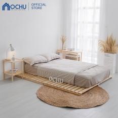 Giường Ngủ Pallet Gỗ Thông OCHU – Nancy Bed – Natural