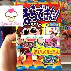 Popin Cookin kẹo mút vị sô cô la- đồ chơi tự làm bánh Nhật Bản