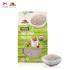 Hạt Chia (Trắng) hữu cơ Smile Nuts hộp 500g – White Chia Seed Organic 500g – Hạt chia nhập khẩu từ Nam Mỹ, hạt sáng, nở đều