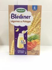 Bột Pha Sữa Bledina ban đêm vị gạo & rau củ 240g cho bé từ 6-36 tháng tuổi