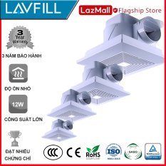 Quạt thông gió âm trần rèm lưới LAVFILL LFCV-12A, LFCV-16A, LFCV-18A, LFCV-25A, LFCV-30A.