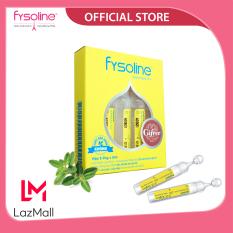 Fysoline (5 ống) – Nước muối sinh lý Kháng khuẩn Pháp- Hỗ trợ nghẹt mũi, viêm mũi, sổ mũi