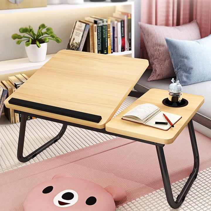 Bàn laptop ngồi giường, bàn gấp gọn RET018