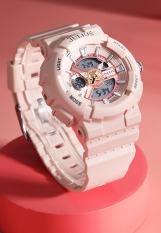 Đồng hồ nữ Julius Hàn Quốc JA-1276C phiên bản thể thao – điện tử – hồng nhạt