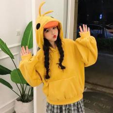 áo hoodie nữ phối nón con kiến siêu dể thương siêu cute st726