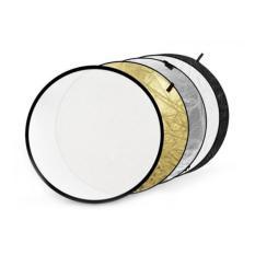 BỘ tấm hắt sáng hình tròn 5 TRONG 1 đầy đủ màu sắc kích thước 60 80 110 cm