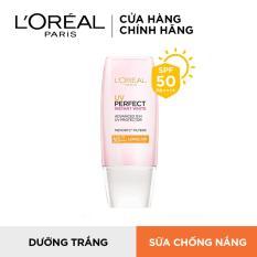 Kem chống nắng dưỡng da trắng sáng tức thì L'Oréal UV Perfect Rosy/Instant White SPF50 PA ++++ 30ml