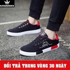 Giày Sneaker Nam Đen Mẫu Mới (Giá Siêu Sốc) – KINGSHOES (KS03)