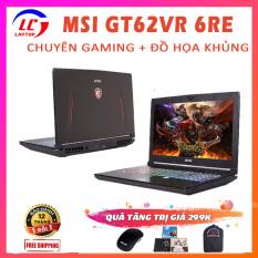 Laptop Chuyên Game, Đồ Họa MSI GT62VR 6RE Dominator Pro, i7-6700HQ, RAM 8G, SSD 128G + HDD 1T, VGA NVIDIA GTX 1070-8G, Màn 15.6 FullHD IPS, Laptop Gaming Khủng, Laptop MSI