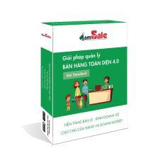 Phần mềm quản lý bán hàng toàn diện iamSale gói Standard 1 năm