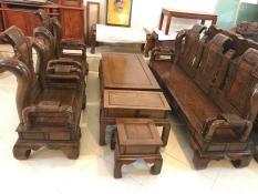 Bộ bàn ghế Tần Thủy Hoàng gỗ mun