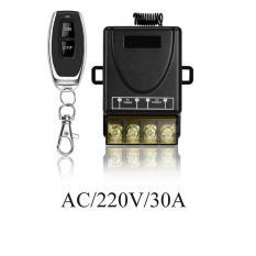 Thiết bị công tắc điều khiển từ xa 100M xuyên tường công suất lớn 30A/3000w/110V-220V, công tắc điều khiển từ xa cho máy bơm máy rửa xe-công tắc hẹn giờ