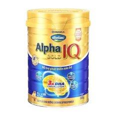 Sữa bột Dielac Alpha Gold IQ Số 4 – Hộp thiếc 900g