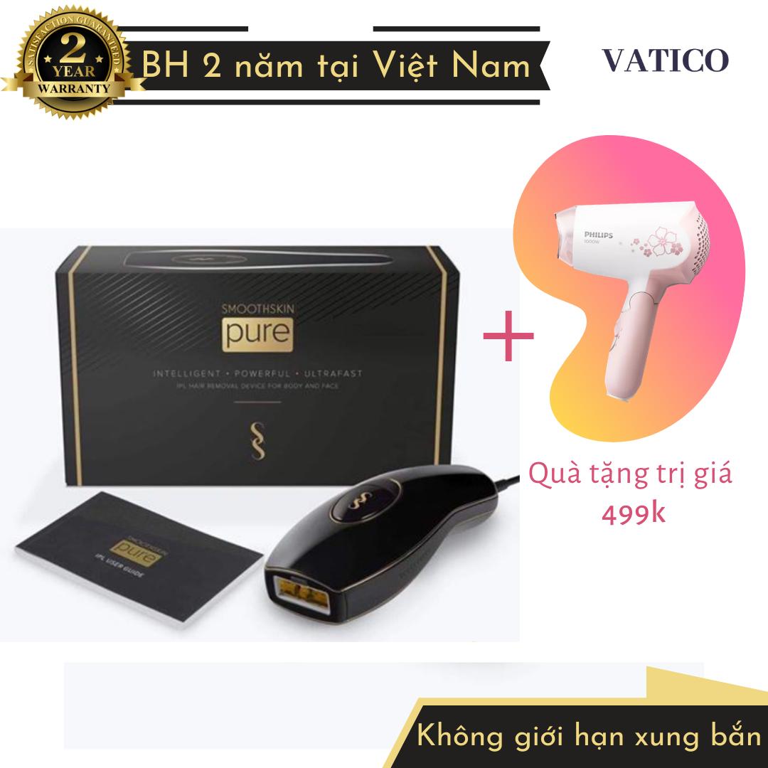 [NHẬN QUÀ 499K] | Máy triệt lông SmoothSkin Pure | Bảo hành 2 năm tại Việt Nam | Hàng chính hãng |