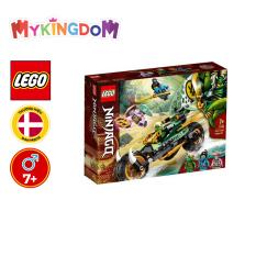 MYKINGDOM – Đồ Chơi Lắp Ráp LEGO NINJAGO Xe Địa Hình Rừng Xanh Của Lloyd 71745 Cho Bé Trên 7 Tuổi (183 Pieces)