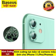 Kính cường lực bảo vệ camera máy ảnh cho iPhone 11 Max Pro – Thương hiệu Baseus – Phân phối bởi Baseus Vietnam