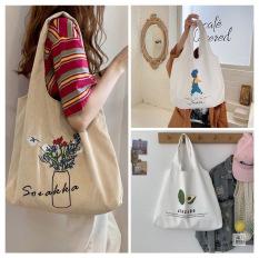 [5 Mẫu Túi] Túi tote, túi vải, túi vải bố cỡ lớn đi học đi chơi đựng khổ giấy a4-THẾ GIỚI BALO TÚI