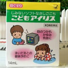 Thuốc Nhỏ Mắt Trẻ Em Taisho Iris Nội Địa Nhật 14Ml