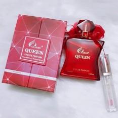 Nước hoa nữ queen 100ml + gel rửa tay khô kháng khuẩn