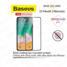 [ Mã giảm giá 60k cho đơn hàng từ 400k ] Kính cường lực siêu bền Curved-screen cho iPhone X/XS/XS MAX/11/11 PRO/11 PRO MAX (02mm Curved-screen Full Coverage tempered glass )