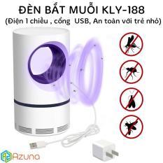 Đèn bắt muỗi KLY188 (Nguồn điện usb, an toàn với trẻ nhỏ)