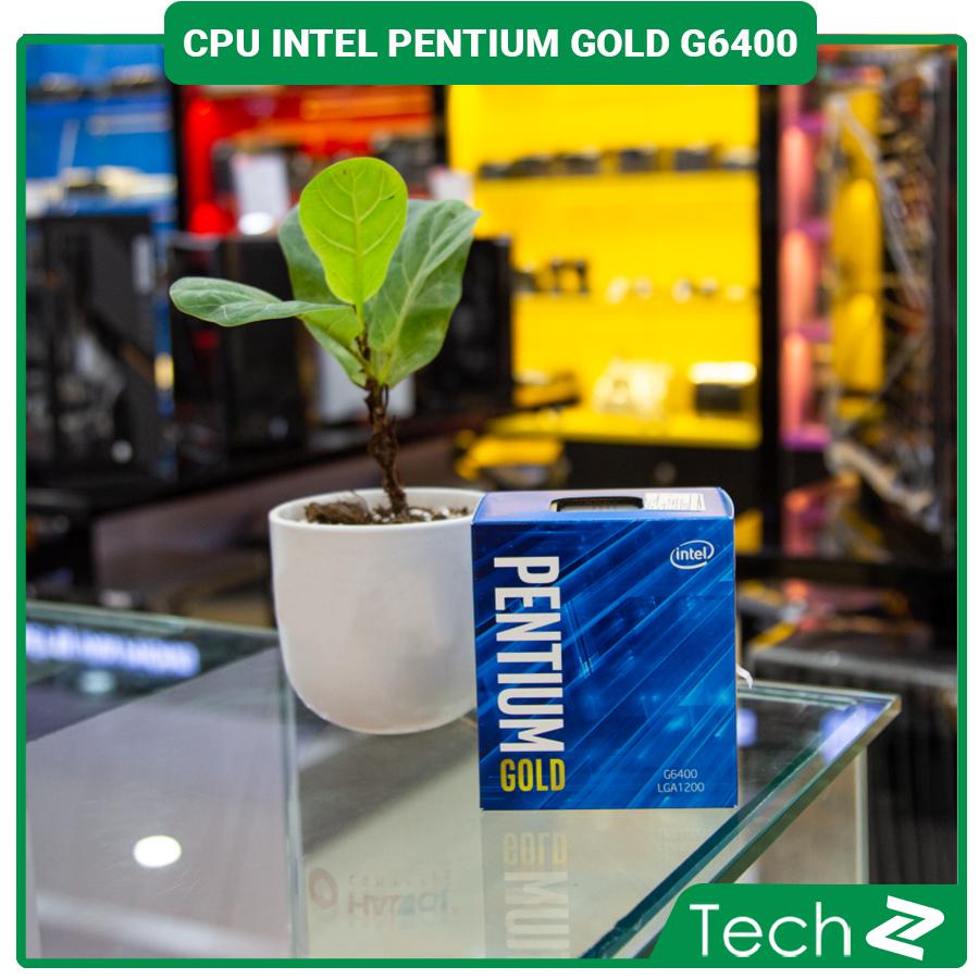CPU Intel Pentium Gold G6400 (4.0GHz, 2 nhân 4 luồng, 4MB Cache, 58W) – Socket Intel LGA 1200