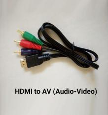 Cáp Chuyển đổi HDMI sang AV (Video & Audio)
