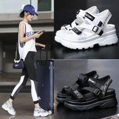 (Video 2 màu) Sandal nữ,sandal học sinh độn đế 5p fashion kiểu dáng mới siêu đẹp
