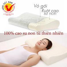 ( SALE 50% ) Gối Chống Ngáy Kymdan – Gối Cao Su Non Cao Su Non 100% Nhập Khẩu