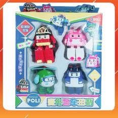 Đồ Chơi Noel – Mô Hình Policar 9 Nhân Vật Anh Dũng – Đồ Chơi Trẻ Em Toy Mart
