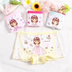 Combo 10 quần lót đùi hình công công chúa cho bé từ 7 đến 30kg