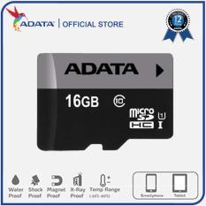 Thẻ nhớ Adata Micro SDHC 16GB class 10 – Bảo hành trọn đời