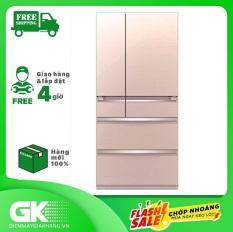 TRẢ GÓP 0% – Tủ lạnh Mitsubishi Electric Inverter 506 lít MR-WX52D-F-V- Bảo hành 2 năm