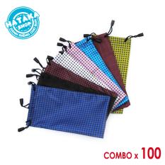 Combo 100 túi rút đựng kính