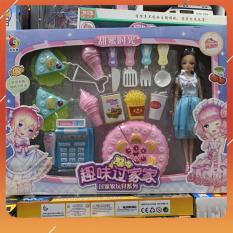 Đồ Chơi Noel – Búp Bê Làm Bánh – Đồ Chơi Trẻ Em Toy Mart
