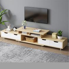 Kệ Tivi phòng khách bằng gỗ, có ngăn kéo để đồ cao cấp – Tủ để TV hiện đại dễ lắp đặt nhiều màu trang trí nhà đẹp