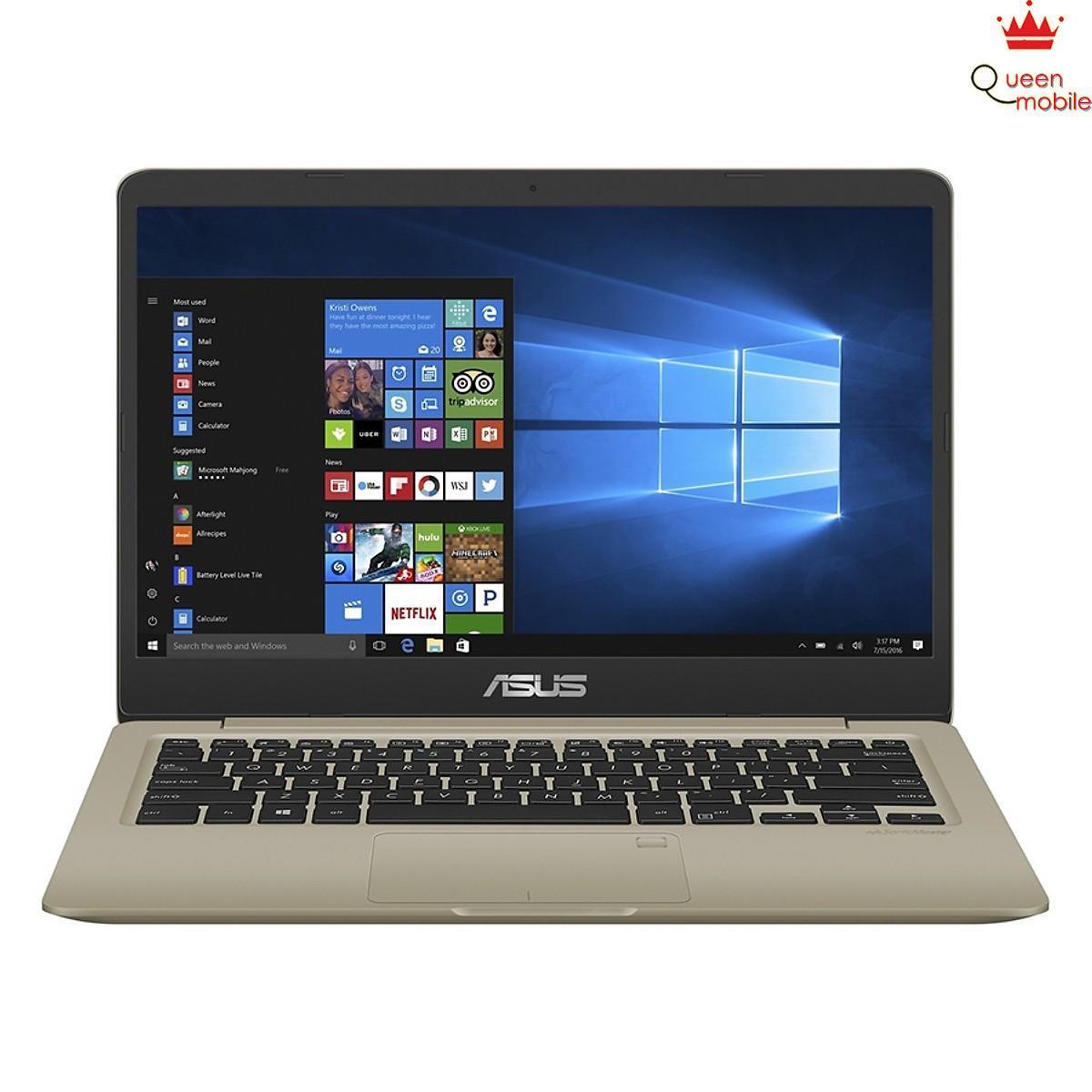 Laptop Asus Vivobook S14 S410UN-EB279T Core i5-8250U/Win10 (14 inch) (Gold)