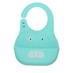 Yếm ăn dặm silicon có máng siêu mềm BPA Free, chống rơi vãi và bám bẩn cho bé Royalcare 8836